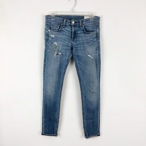 Rag & Bone The Dre Distressed Skinny Jeans